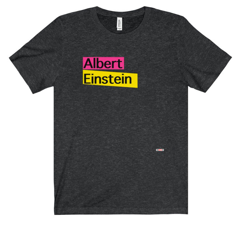 Einstein T Shirt - physicists gift