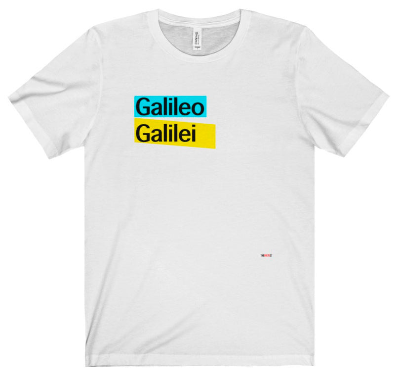 Galileo T Shirt - scientists gift
