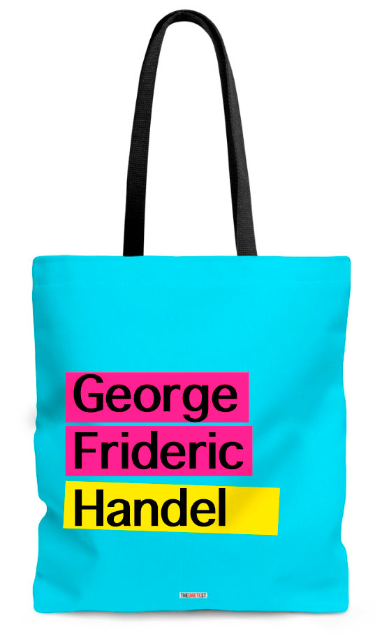 Handel Tote bag - Gifts for musicians
