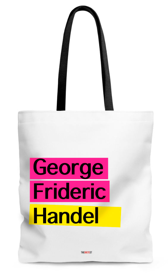 Handel Tote bag - Gifts for classical musicians