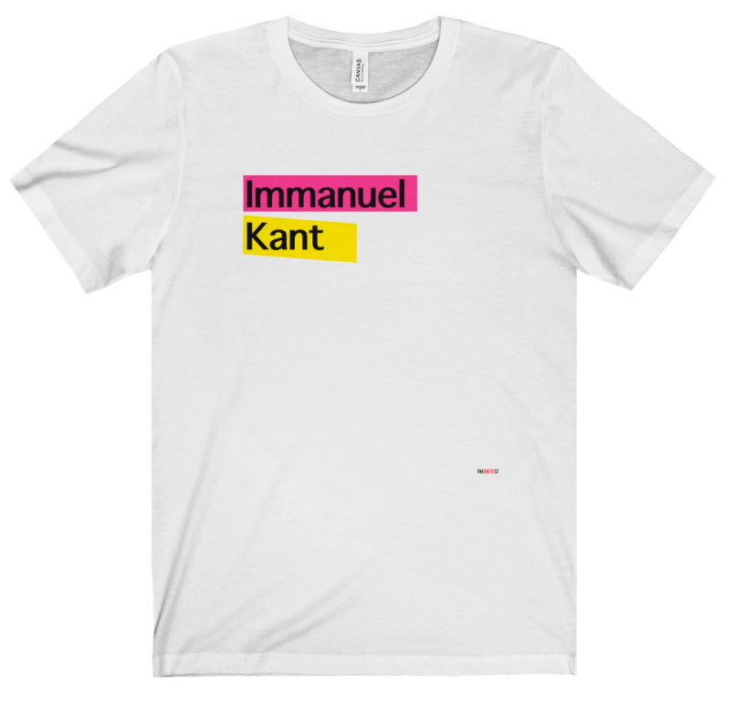 Kant T Shirt - philosophers gift