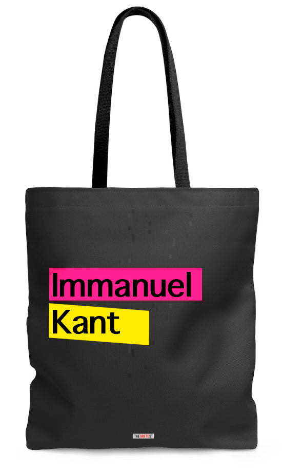 Kant Tote bag - Gifts for philosophers
