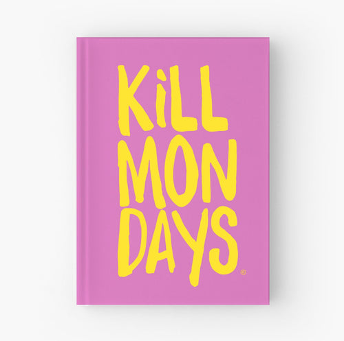 Kill Mondays Journal - Pink Journal