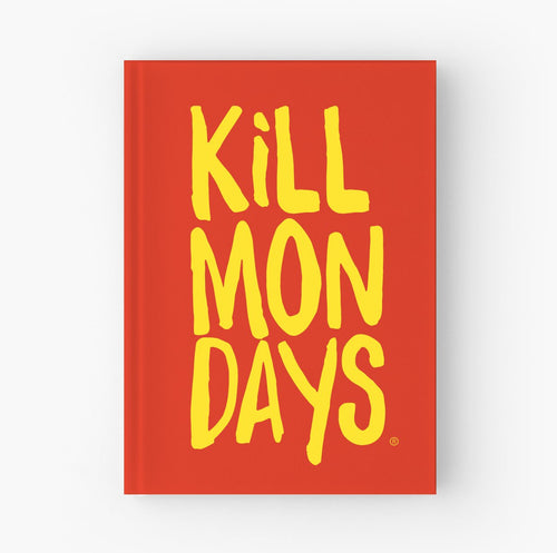 Kill Mondays Journal - Red Journal