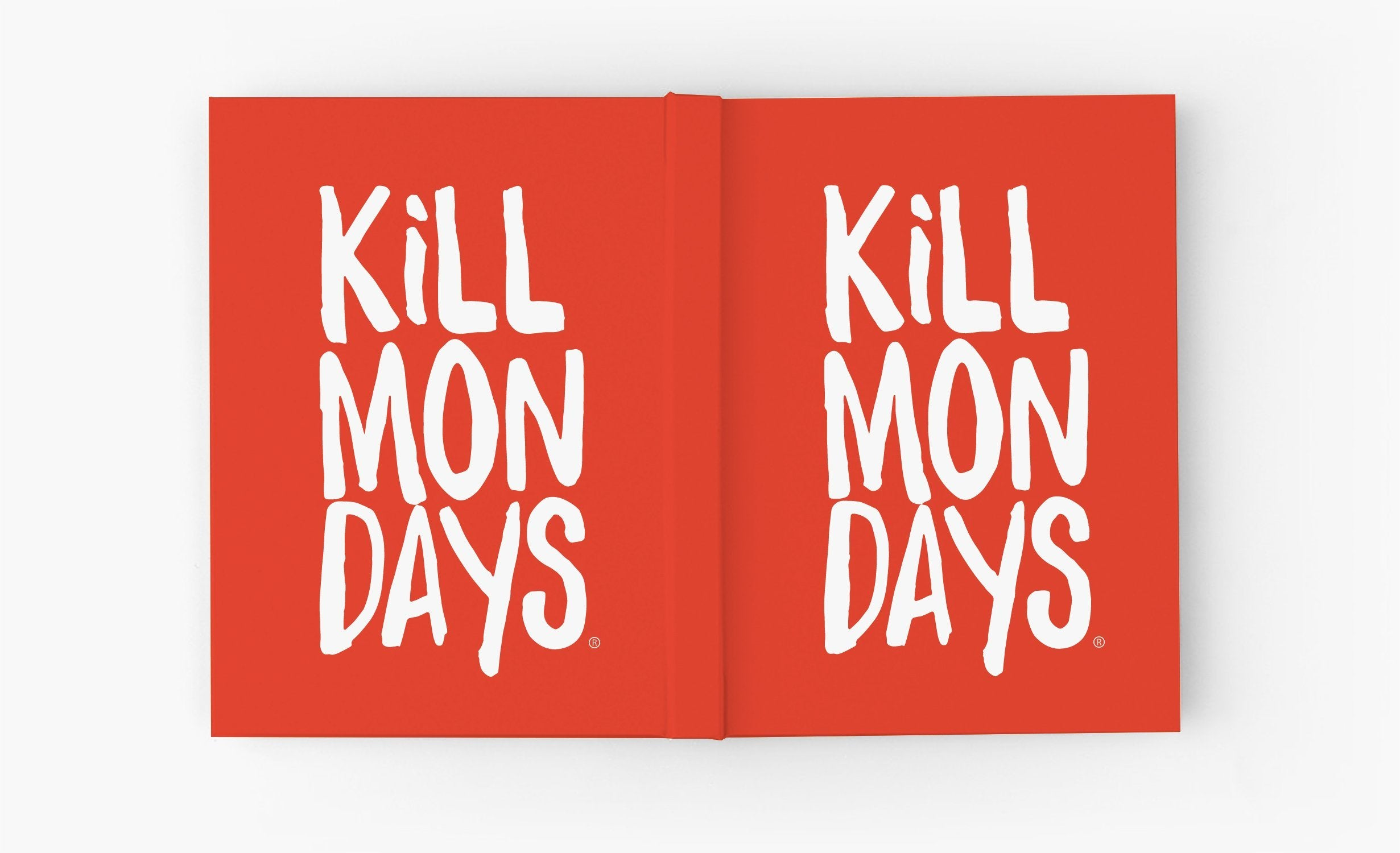 Kill Mondays Journal - Red Journal-TheGretest