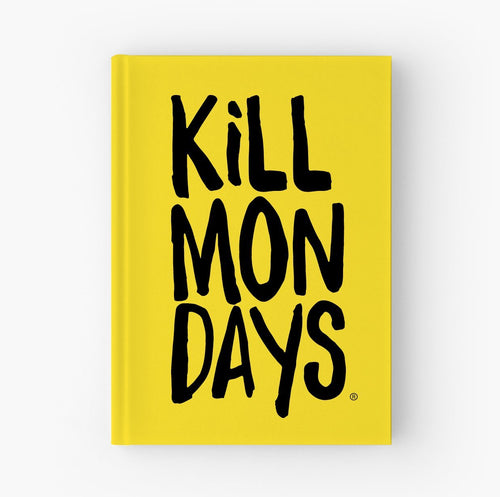 Kill Mondays Journal - Yellow Journal