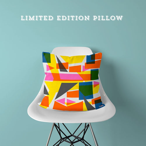 Limited Edition Pillow - Geometric World