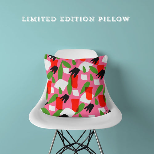Limited Edition Pillow - Pink Dreams