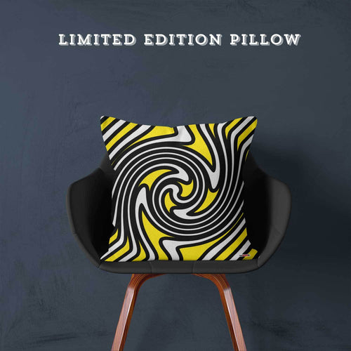 Limited Edition Pillow - Yellow Me