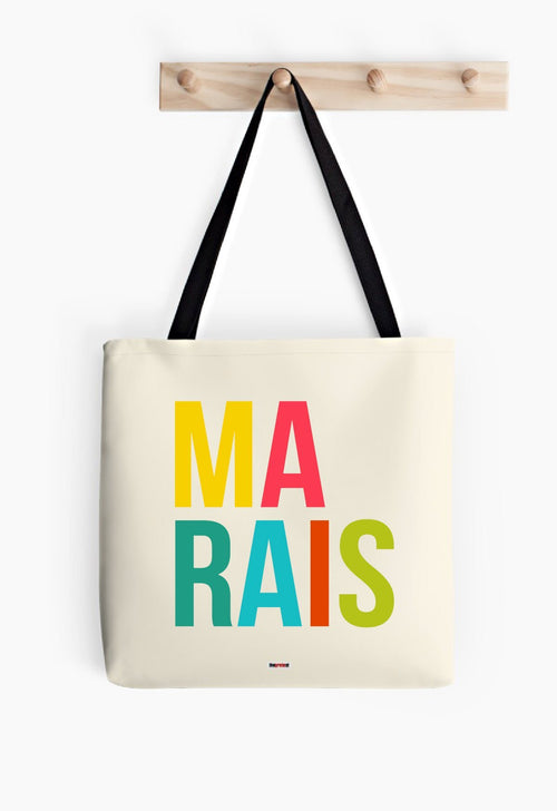 Marais Tote bag - Paris Tote bag - Paris bag