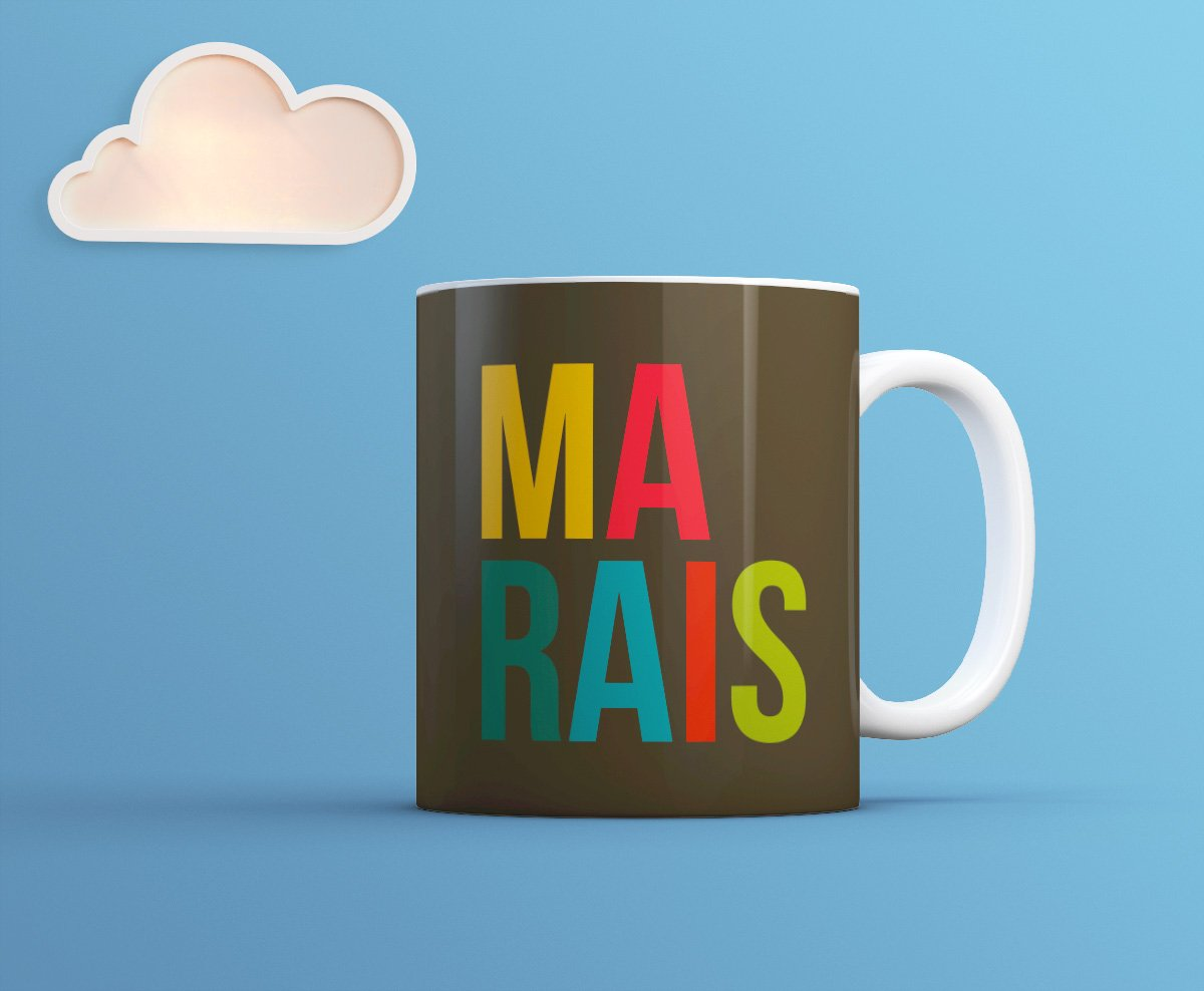 Marais Mug - Paris Cool Souvenir-TheGretest