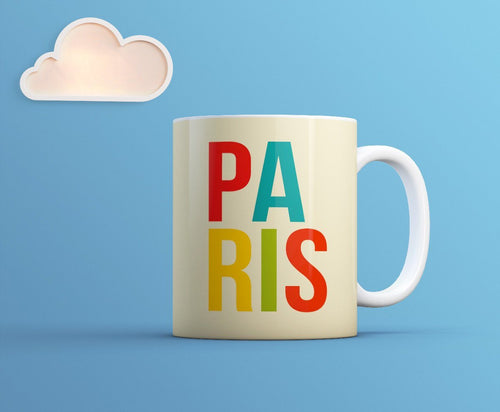 Paris Mug - Paris Cool Souvenir