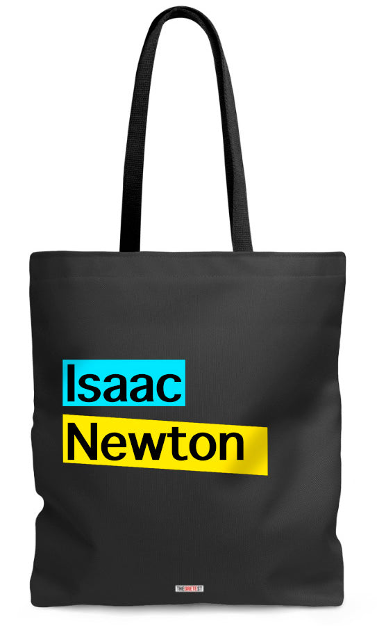 Isaac Newton Tote bag - Gifts for astronomers
