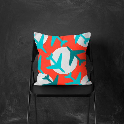 Airplanes Decorative Pillow