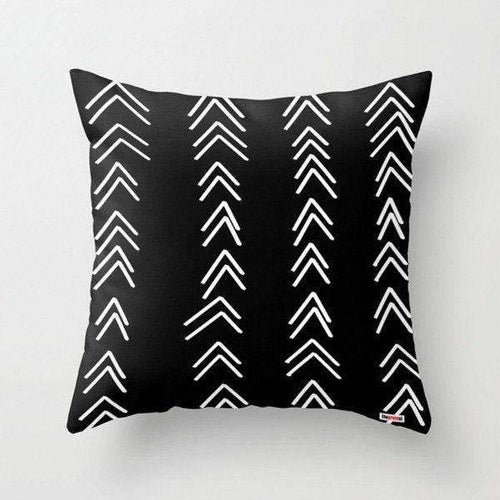 Arrows decorative pillow