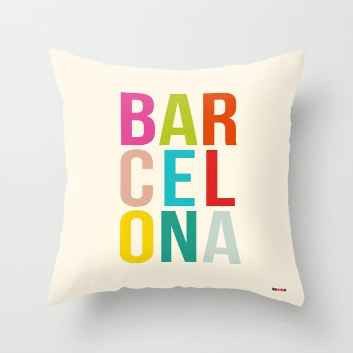 Barcelona pillow - City Pillow-TheGretest