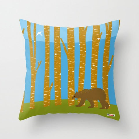 Bear Pillow - Designer throw pillow - TheGretest