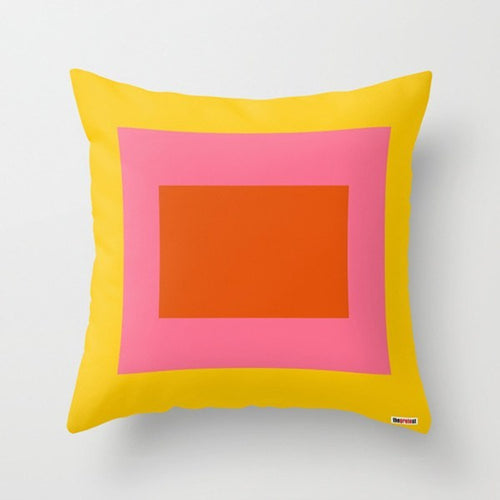 Block Colors Pillow