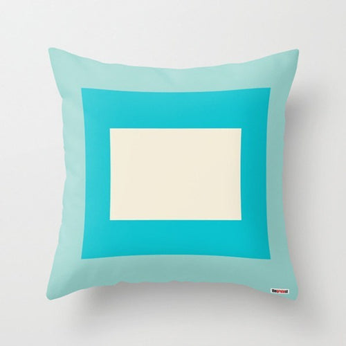 Blocks Colors Decorative Pillow