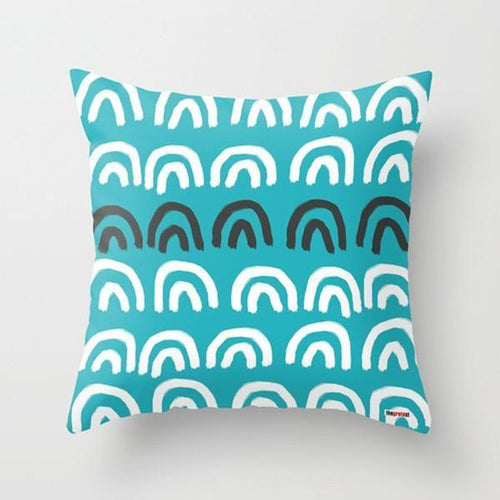 Blue Life Decorative Pillow