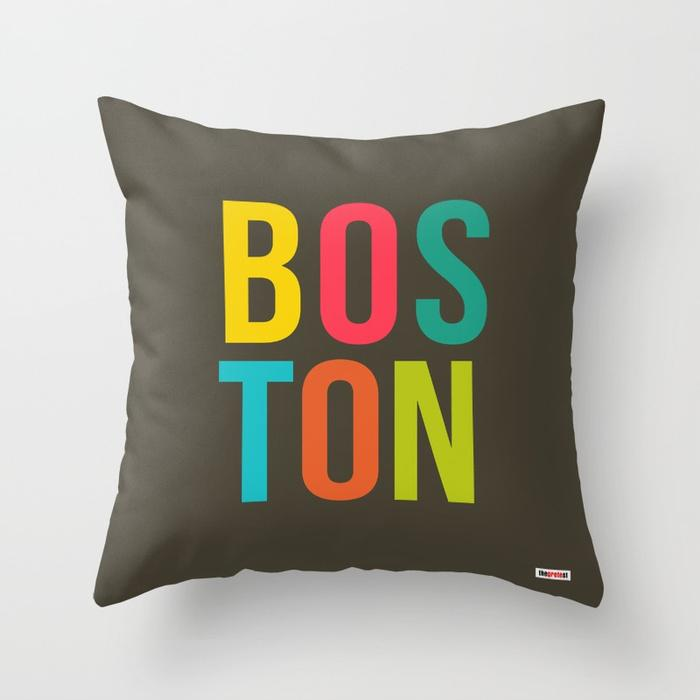 Boston pillow - Souvenir Pillow-TheGretest