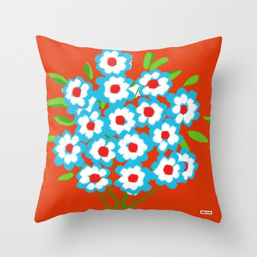 Bouquet Decorative Pillow - Floral Pillow