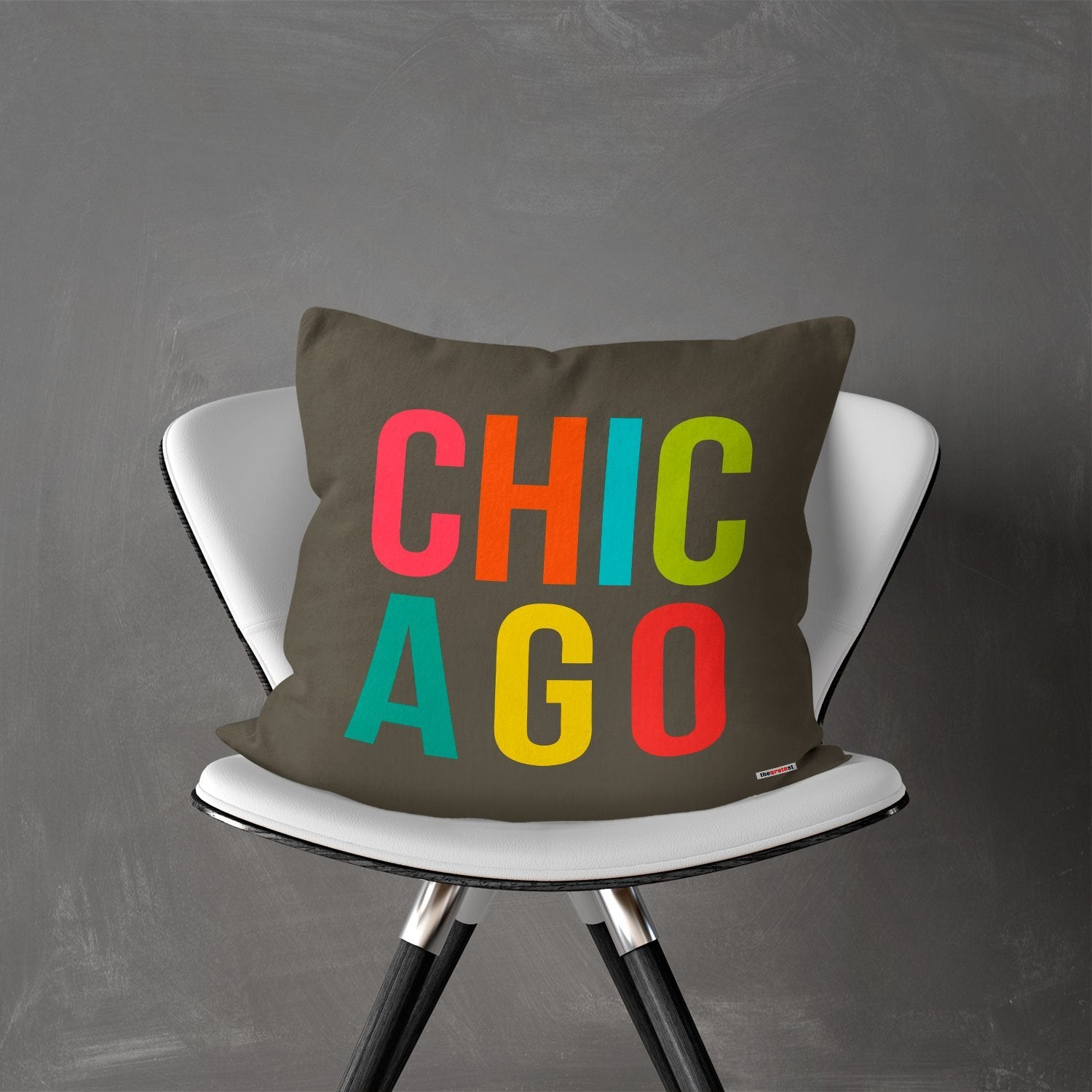 Chicago pillow - Chicago Souvenir - Chicago gift -TheGretest