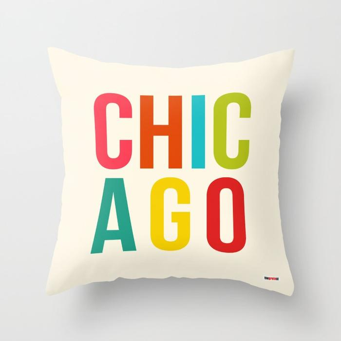 Chicago pillow - Souvenir Pillow-TheGretest