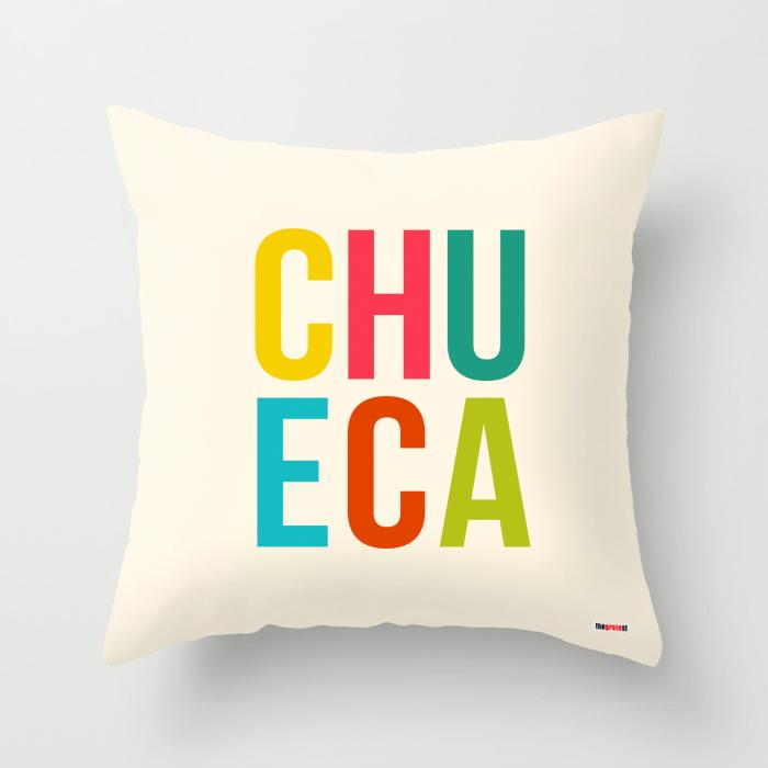 Chueca pillow - Madrid Souvenir Pillow-TheGretest