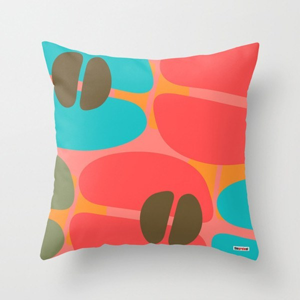 Color coffee Throw Pillow Cover-TheGretest