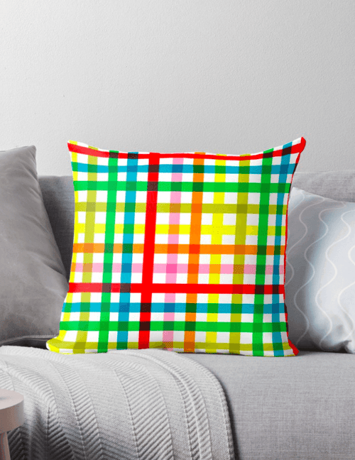 Colorful Pillows - Modern Pillow