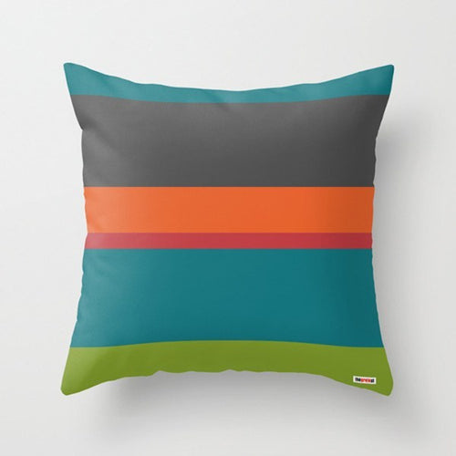 Striped Colors Pillow