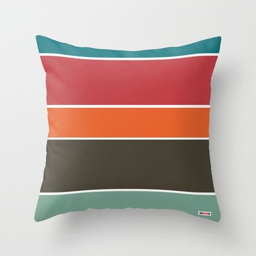 Colorful Stripes Pillow