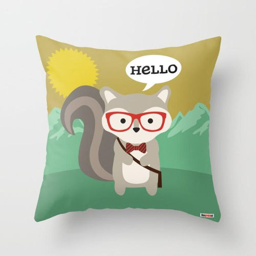Cute animal Pillow - Pillow cover - Pillows for kids