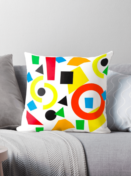 Geometric Pillow - Decorative Pillow - The Gretest