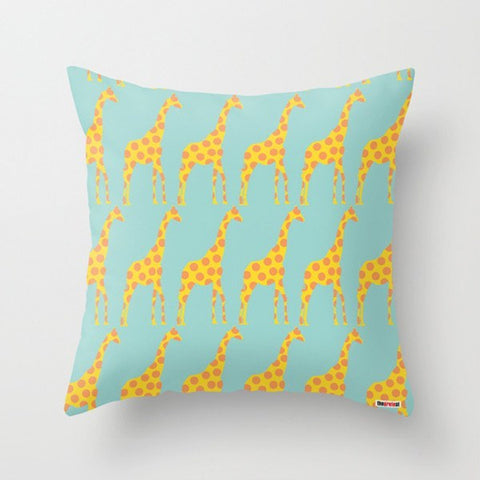 Giraffes Nursery Pillow - Baby Shower gift ideas - TheGretest