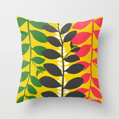 Colorful Leaf Decorative Pillow