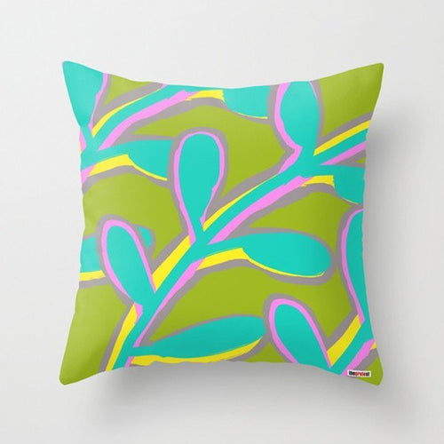 Leafs Decorative Throw Pillows