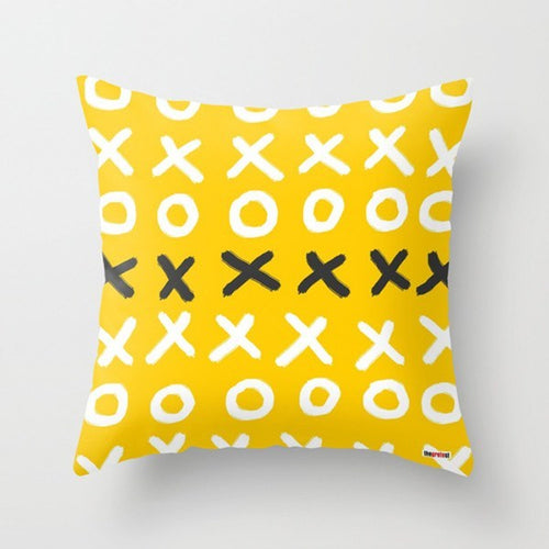 Yellow Decorative Pillow