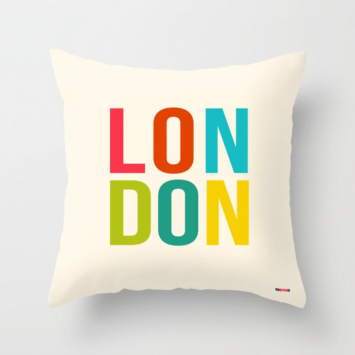 London pillow - City Pillow-TheGretest