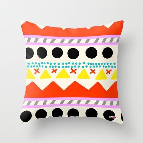 Scandinavian Colorful Pillow