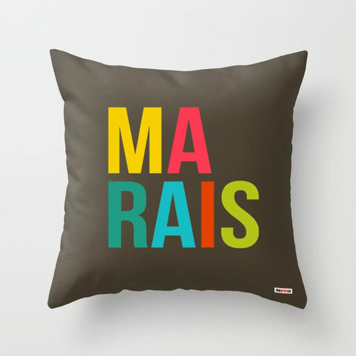 Marais pillow - Paris Pillow