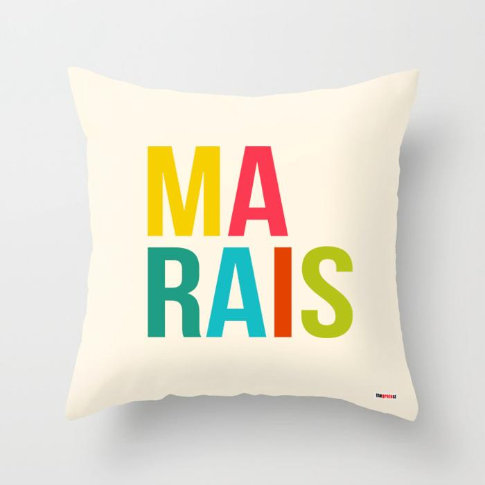 Marais pillow - Paris Pillow-TheGretest