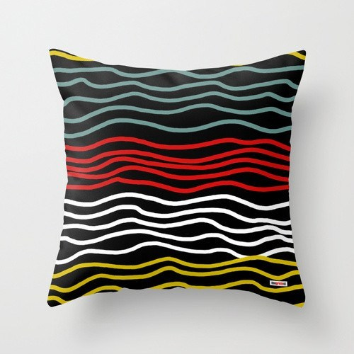 More Lines Decorative Pillow