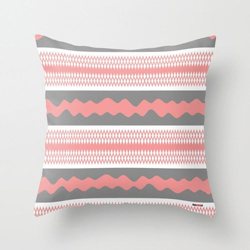 Pink Decorative Pillow