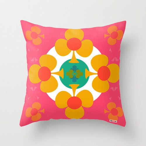 Pink life Decorative Pillow