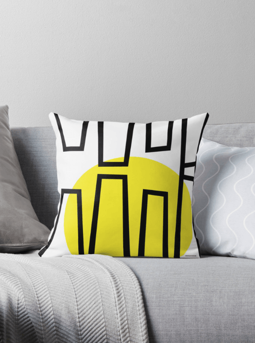 Pop Day Decorative Pillow