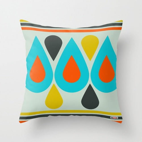 Pop Drops Decorative Pillow