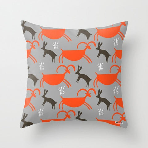 Prehistoric Art Decorative Pillow - TheGretest