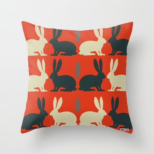 Rabbits Pillow